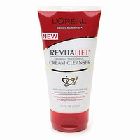 Loreal Revitalift Radiant Smoothing Cream Cleanser - 5 Oz, 3 Pack