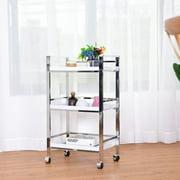 Kitchen carts on wheels - Bathroom storage cart with wheels ...
