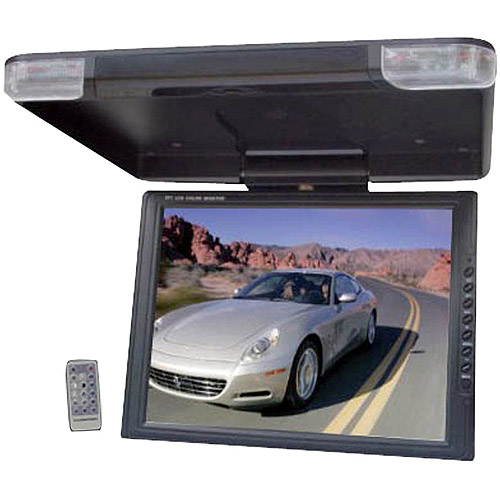 Pyle 14'' High Resolution TFT Roof Mount Monitor and IR Transmitter