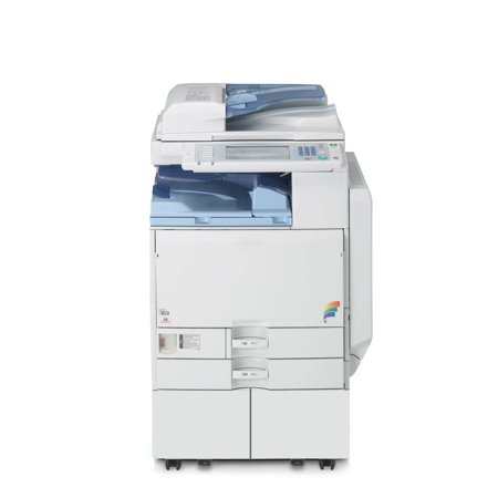 Refurbished Ricoh Aficio MP C2800 A3 Color Laser Multifunction Copier - 28ppm, Copy, Print, Scan, Auto Duplex, Network, 1200 x 1200 dpi, 2 Trays, Stand