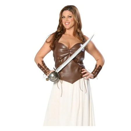 Sexy Adult Womens Costumes Viking Warrior Nordic Princess Historical Renaissance Costume Theme Party - Viking Warrior Woman Costume