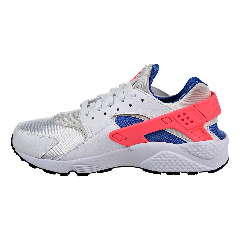 4bc7030c1a7b6 Nike - Nike Air Huarache Men s Running Shoes White Ultramarine Solar Red  318429-112 - Walmart.com