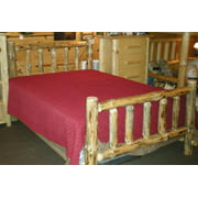 Standard Log Bed (Unfinished, Twin)