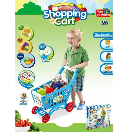 Shopping Cart Play Set (Blue)