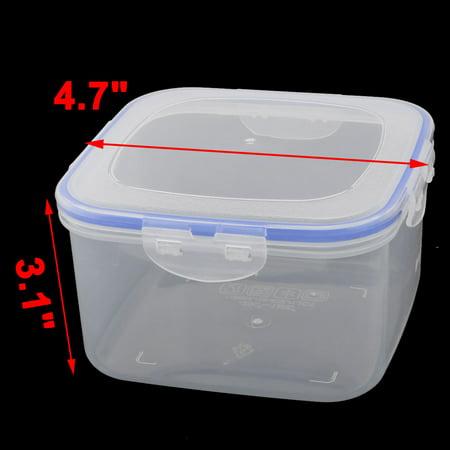 Plastic Square Food Peanut Nut Sugar Holder Storage Container Box Case 800ml - image 1 of 4