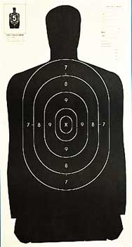 Champion Traps and Targets Police Target, 24\ by ATK - Champion Traps & Targets