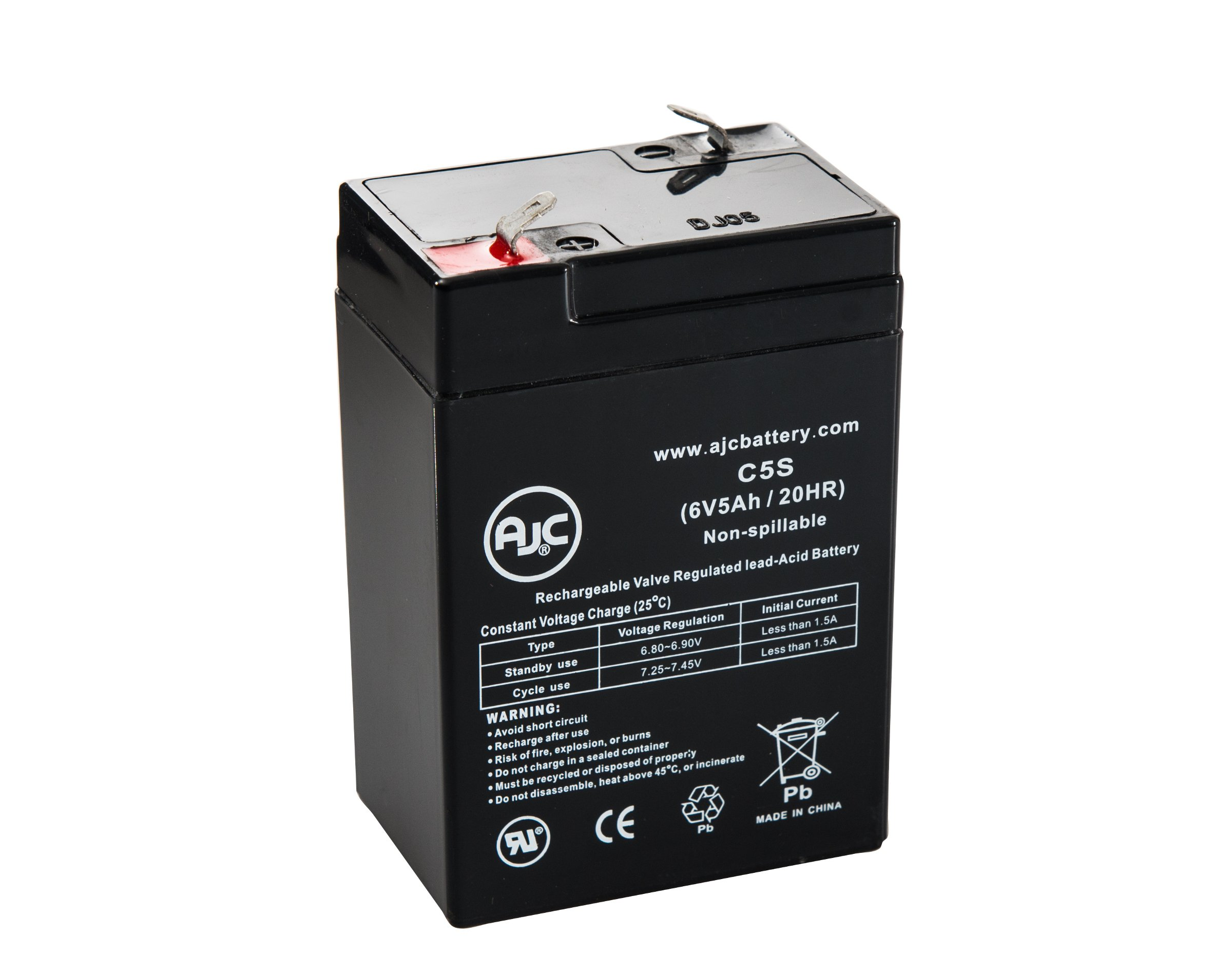 Mighty Max Battery 6V 7Ah SLA Battery Replacement for Ritar RT670 RT 670 Brand Product