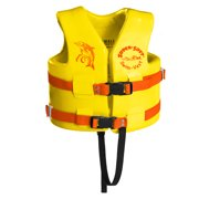 Texas Rec Supersoft Swim Life Vest Small 23-24in. - Yellow