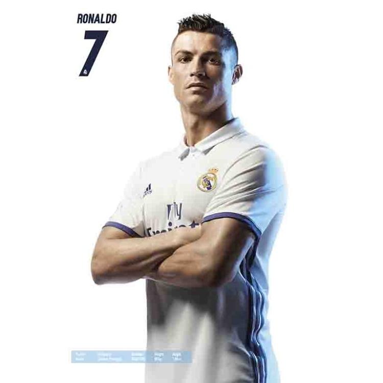 New Cristiano Ronaldo Football Star Poster 14x21 24x36 Art Gift X-653
