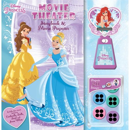 Disney Princess: Movie Theater Storybook & Movie Projector](Princess Story For Toddlers)