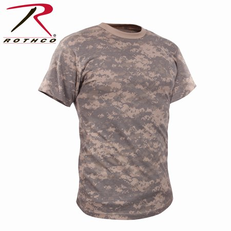 Rothco Kids Vintage Camo T-Shirt - ACU Digital Camo, Large
