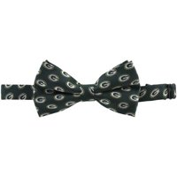 Green Bay Packers Repeated Logo Bow Tie - Green - No Size