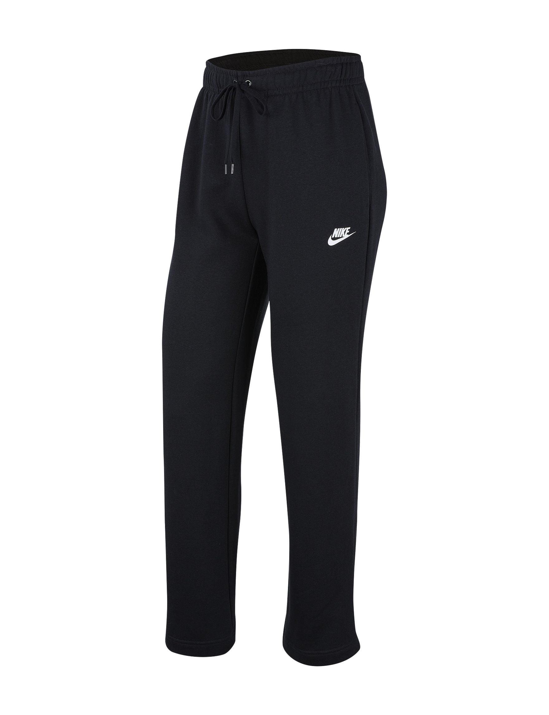 NIKE Sportswear Women's Plus Size Fleece Club Loose Fit Pants (Black, 3X)
