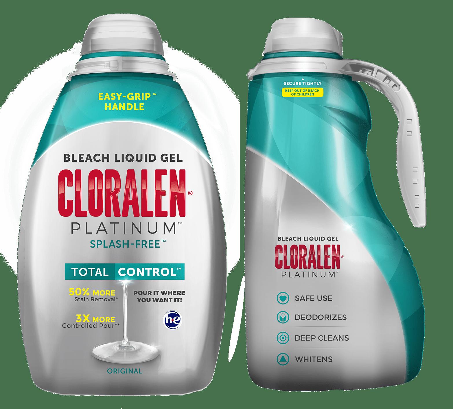 CLORALEN® Platinum™ Bleach Liquid Gel, Original 110 fl oz