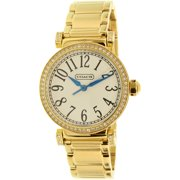 Coach Women's Madison 14501724 Gold Stainless-Steel Quartz Watch