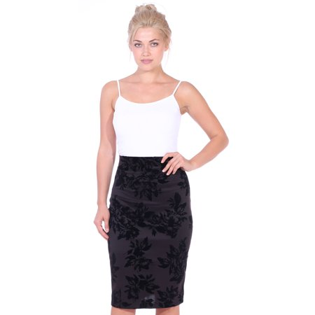 d5dba17f7d637 CUT   PASTE - Womens Pencil Skirt Knee Length