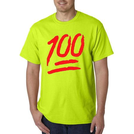 d136a378 New Way - 141 - Unisex T-Shirt Keep It A Hunnid Hundred 100 Emoji Apple -  Walmart.com