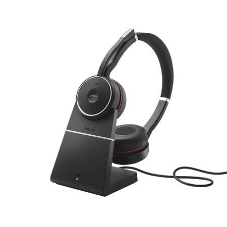 Jabra Evolve 75+ MS Stereo Wireless Headset / Music Headphones