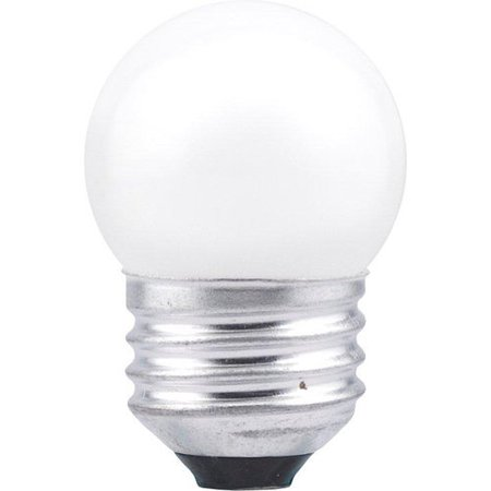 - Sylvania 19421 - 7.5S/CW/BL 120V Standard Screw Base White Frosted Scoreboard Sign Light Bulb