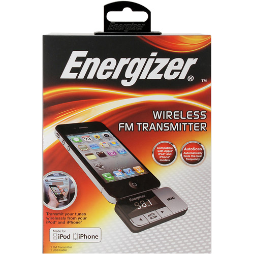 Energizer iPod and iPhone FM Transmitter