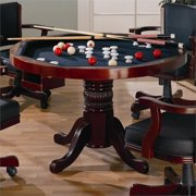 Bowery Hill 3 in 1 Multi Game Table in Merlot