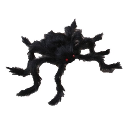 Spooky Giant Posable Halloween Spider 30