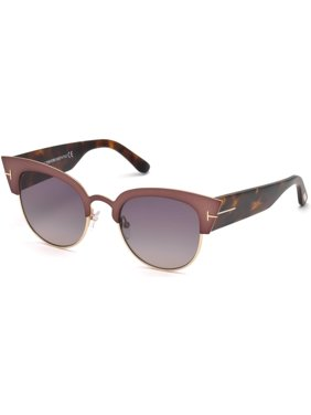 c7362a6fe7fa Product Image Sunglasses Tom Ford FT 0607 Alexandra- 02 74B pink  other    gradient smoke