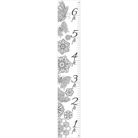 Better Homes and Gardens Color-in Canvas Growth Chart