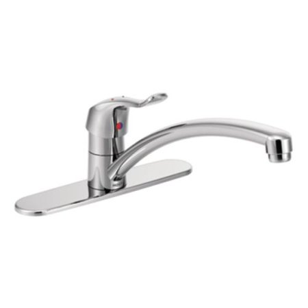Moen 8711 M Dura Single Hole Commercial Kitchen Faucet Chrome