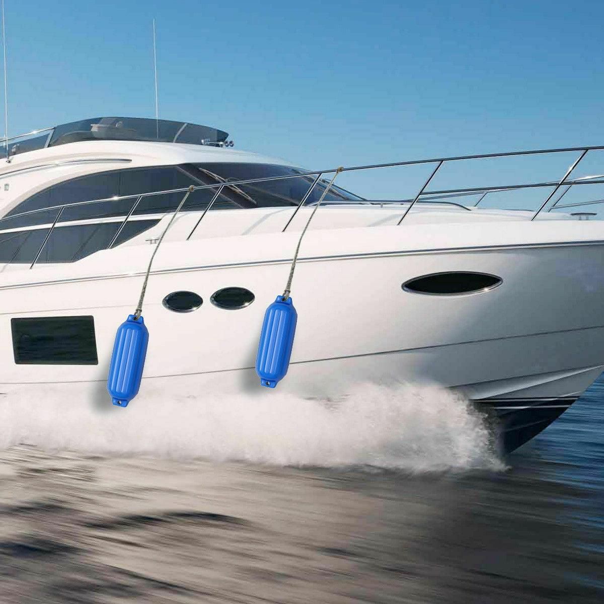 Ocean Fenders Ribbed Inflatable Boat Fender Horizontal /& Vertical Use