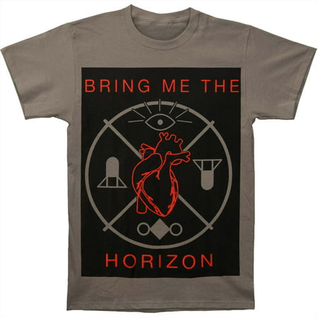 Bring Me The Horizon Men's  Heart And Symbols T-shirt Heather](Bring Me The Horizon Halloween)
