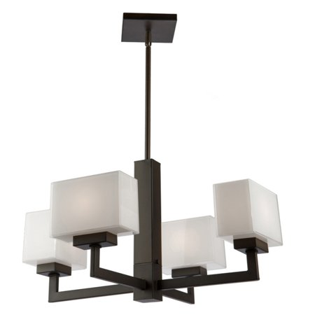 Artcraft Cube Lights SC13184OB Chandelier