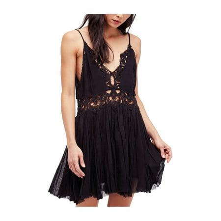 5a443887ba27 Free People Womens Ilektra Lace s Mini Dress mint L - image 1 of 1 ...