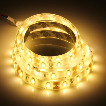 DIY Decor 1M 60-SMD Bright 5630 LED Waterproof Flexible Strip Light 12V Bright Waterproof Led