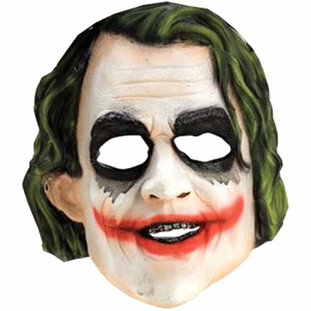 Joker Vinyl Mask Child Halloween Accessory - Joker Henchman Masks