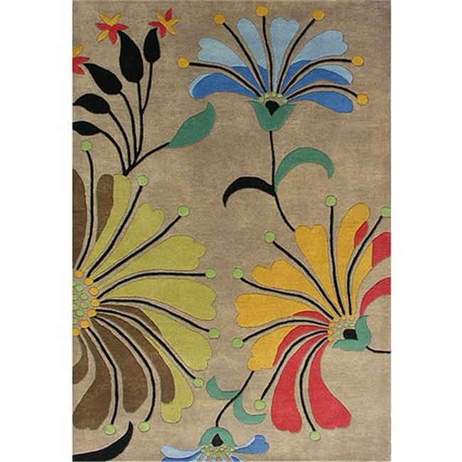 Shah Rugs 9071-4x6 4 ft. x 6 ft. Eastern Hand-tufted Wool Rug