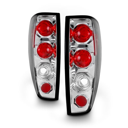 Fits 04-12 Chevy Colorado Canyon Pickup Truck Chrome Tail Brake Lights Lamp