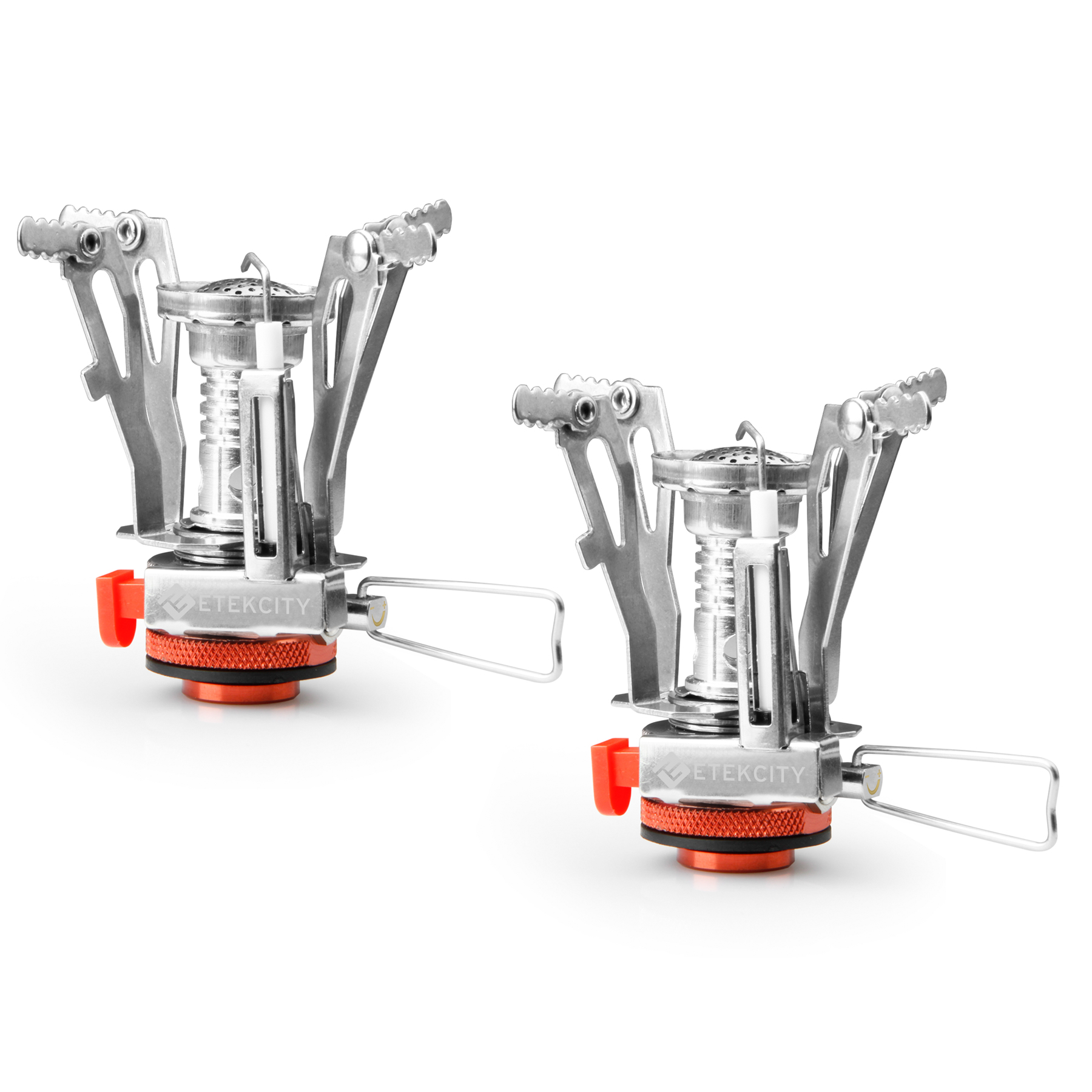Etekcity 5oz Camp Stove Burner Propane Butane for Grill Outdoor 2-PACK