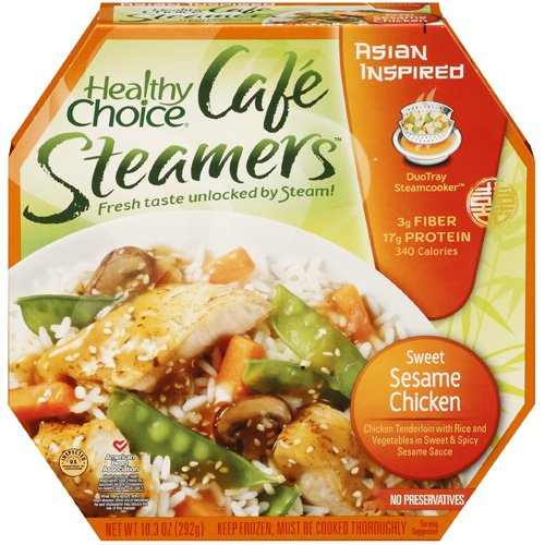 Healthy Choice Asian Inspired Cafe Steamers Sweet Sesame Chicken, 10.3 oz