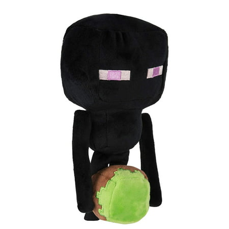 Minecraft Happy Explorer Enderman Plush](Happy Halloween Minecraft Side Stories)