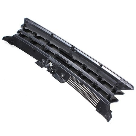 Black Badgeless Debadged Front Sports Grille Grill For AUTO TUNING VW GOLF 4 MK4 97-04 - image 5 de 7