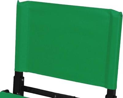REPLACEMENT BACK for Standard Model Stadium Chair Bleacher Seat, Kelly Green by