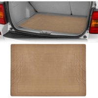 Motor Trend Cargo Trunk Floor Mat, Trimmable Utility Mat, Black