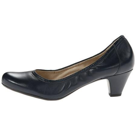 32c8fb73c49 Naturalizer - Womens Stargaze Leather Closed Toe Classic Pumps - Walmart.com