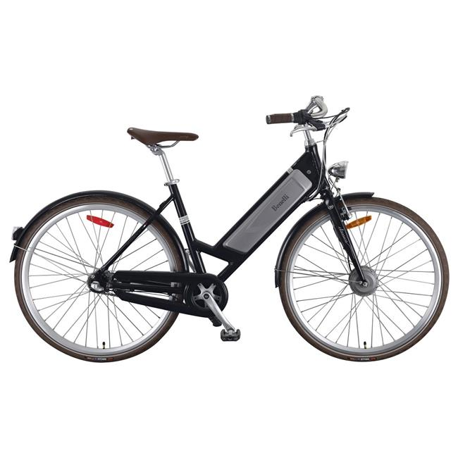 28 in. Vintage Style EBike Cruiser with Pedal Assist