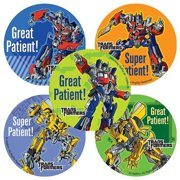 Transformers Patient Stickers - 75 per Pack