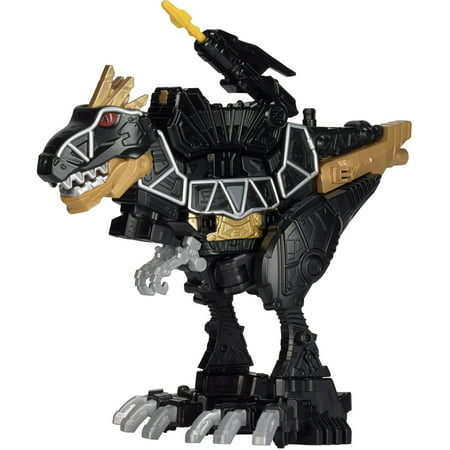 power rangers dino super charge deluxe black t rex zord. Black Bedroom Furniture Sets. Home Design Ideas
