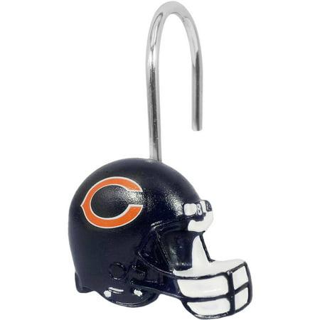 NFL Chicago Bears Shower Hooks, 12 Count](Nfl Chicago Bears)