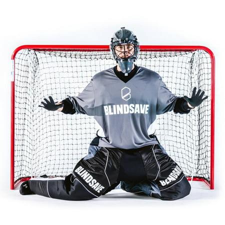 2018 Blindsave Floorball Goalie Jersey Black Goalie Jersey