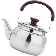 yayagoli 1L Camping Kettle Durable Stainless Steel Camp Tea Coffee Water Pot for Hiking Backpacking Outdoor Camping and Picnic